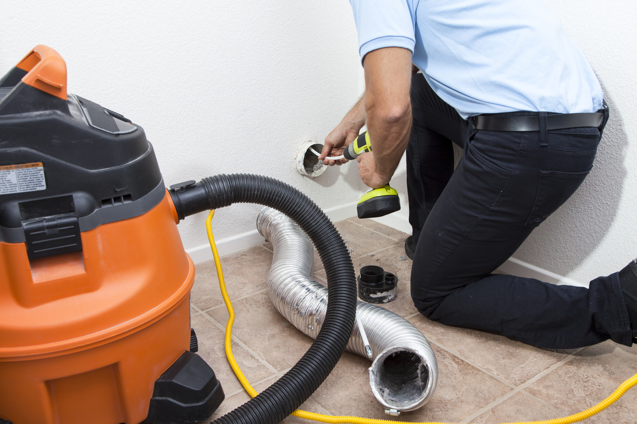 dryer vent cleaning, repairs, services